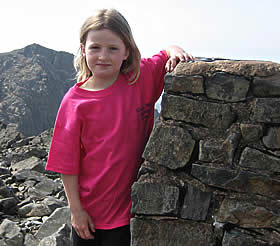 Kerry on Scafell Pike