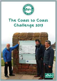 The Coast to Coast Challenge book 2013