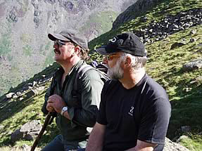 Janusz with Cameron McNeish